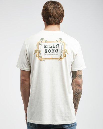 3 Trifecta - T-Shirt für Männer Weiss Q1SS30BIF9 Billabong
