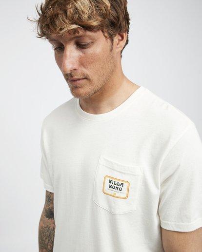 4 Trifecta - T-Shirt für Männer Weiss Q1SS30BIF9 Billabong