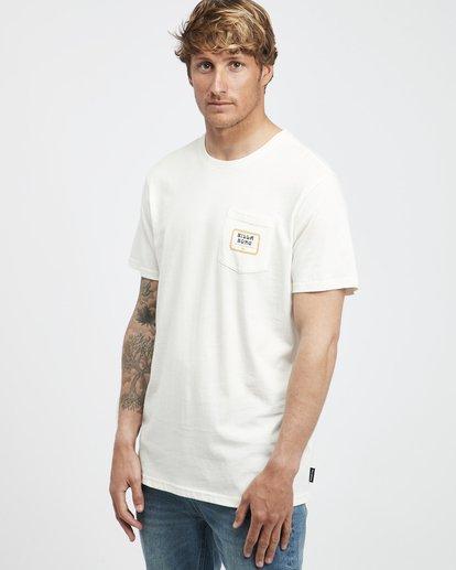2 Trifecta - T-Shirt für Männer Weiss Q1SS30BIF9 Billabong