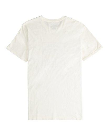 5 Twotail - Short Sleeves Tee for Men White Q1SS31BIF9 Billabong