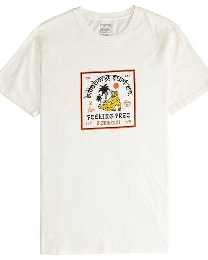4 Twotail - T-Shirt für Männer Weiss Q1SS31BIF9 Billabong