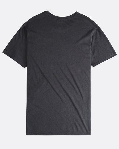 1 Twotail - Camiseta de Manga Corta para Hombre Negro Q1SS31BIF9 Billabong