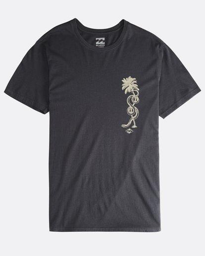 0 Twotail - Camiseta de Manga Corta para Hombre Negro Q1SS31BIF9 Billabong