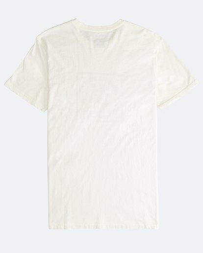 1 Twotail - T-Shirt für Männer Weiss Q1SS31BIF9 Billabong