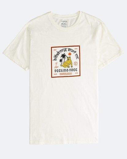0 Twotail - T-Shirt für Männer Weiss Q1SS31BIF9 Billabong