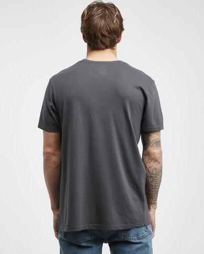 7 Twotail - Camiseta de Manga Corta para Hombre Negro Q1SS31BIF9 Billabong
