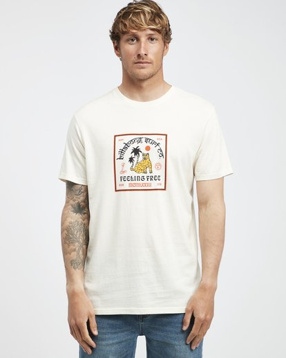 6 Twotail - T-Shirt für Männer Weiss Q1SS31BIF9 Billabong