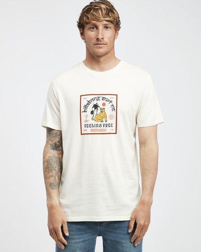 6 Twotail - Short Sleeves Tee for Men White Q1SS31BIF9 Billabong