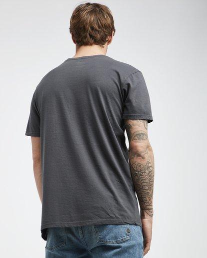 3 Twotail - Camiseta de Manga Corta para Hombre Negro Q1SS31BIF9 Billabong