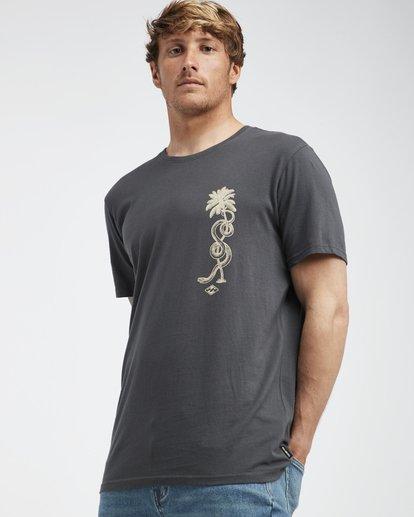2 Twotail - Camiseta de Manga Corta para Hombre Negro Q1SS31BIF9 Billabong