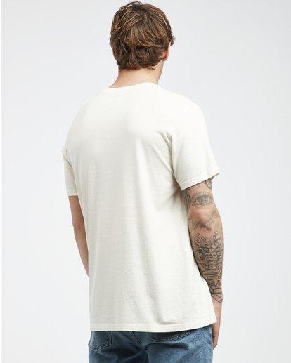 3 Twotail - T-Shirt für Männer Weiss Q1SS31BIF9 Billabong