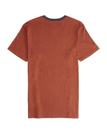 6 League - Camiseta de Manga Corta para Hombre  Q1SS32BIF9 Billabong