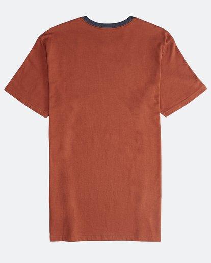 1 League - Camiseta de Manga Corta para Hombre  Q1SS32BIF9 Billabong