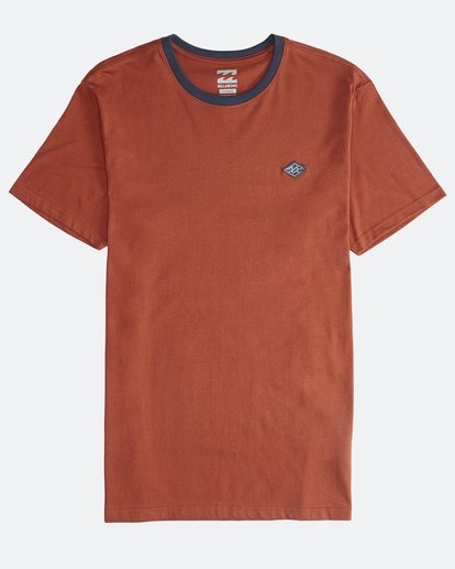0 League - Camiseta de Manga Corta para Hombre  Q1SS32BIF9 Billabong