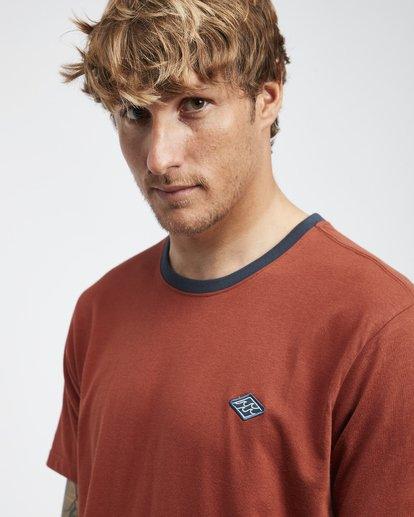 4 League - Camiseta de Manga Corta para Hombre  Q1SS32BIF9 Billabong