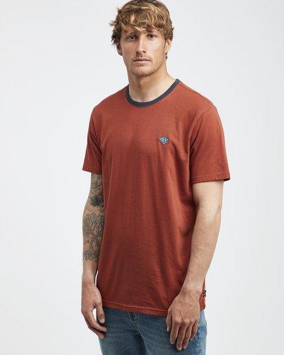 2 League - Camiseta de Manga Corta para Hombre  Q1SS32BIF9 Billabong