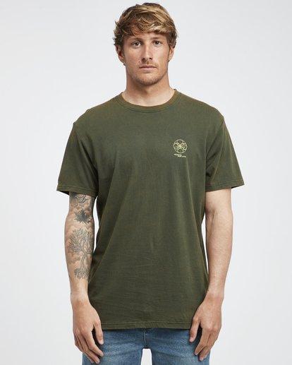 6 Template - Camiseta de Manga Corta para Hombre Camo Q1SS34BIF9 Billabong