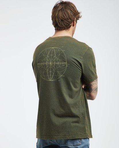 3 Template - Camiseta de Manga Corta para Hombre Camo Q1SS34BIF9 Billabong