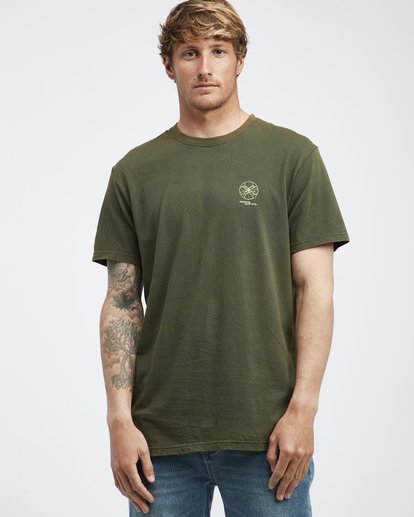 2 Template - Camiseta de Manga Corta para Hombre Camo Q1SS34BIF9 Billabong