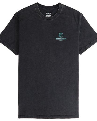 4 Noise - T-Shirt für Männer Schwarz Q1SS35BIF9 Billabong