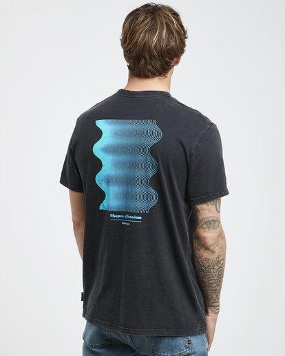 3 Noise - T-Shirt für Männer Schwarz Q1SS35BIF9 Billabong
