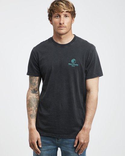 2 Noise - T-Shirt für Männer Schwarz Q1SS35BIF9 Billabong