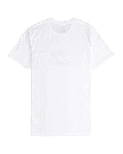5 Team Wave - T-Shirt für Männer Weiss Q1SS36BIF9 Billabong