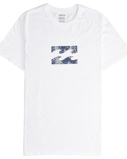 4 Team Wave - T-Shirt für Männer Weiss Q1SS36BIF9 Billabong