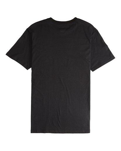 5 Team Wave - Camiseta de Manga Corta para Hombre Negro Q1SS36BIF9 Billabong