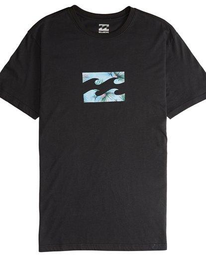 4 Team Wave - Camiseta de Manga Corta para Hombre Negro Q1SS36BIF9 Billabong