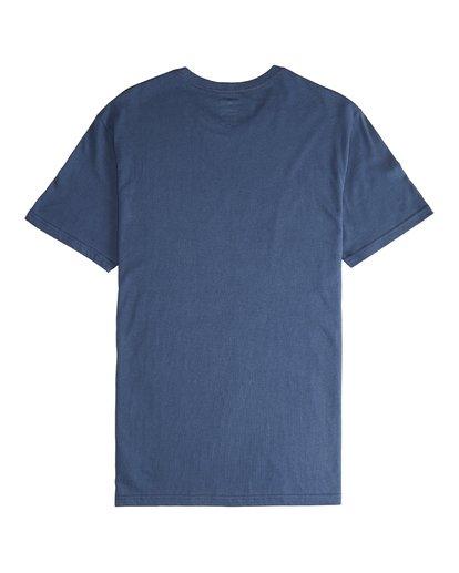 5 Team Wave - T-Shirt für Männer Blau Q1SS36BIF9 Billabong