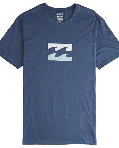 4 Team Wave - T-Shirt für Männer Blau Q1SS36BIF9 Billabong