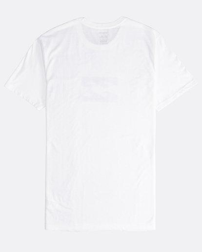 1 Team Wave - T-Shirt für Männer Weiss Q1SS36BIF9 Billabong