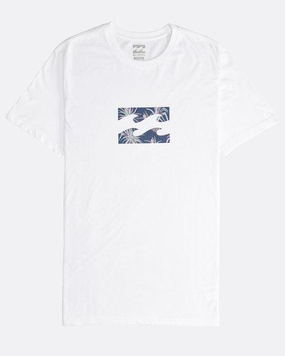 0 Team Wave - T-Shirt für Männer Weiss Q1SS36BIF9 Billabong