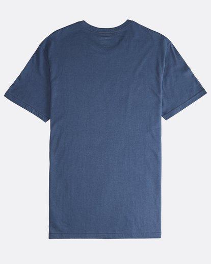 1 Team Wave - T-Shirt für Männer Blau Q1SS36BIF9 Billabong