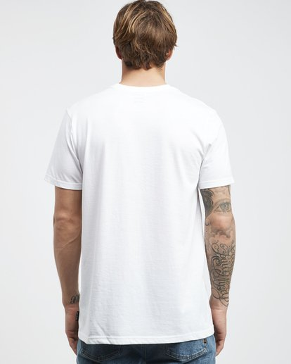 7 Team Wave - T-Shirt für Männer Weiss Q1SS36BIF9 Billabong