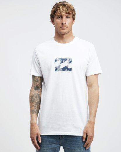 6 Team Wave - T-Shirt für Männer Weiss Q1SS36BIF9 Billabong