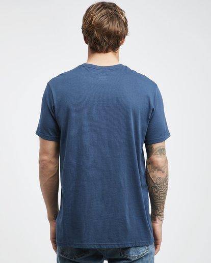 7 Team Wave - T-Shirt für Männer Blau Q1SS36BIF9 Billabong