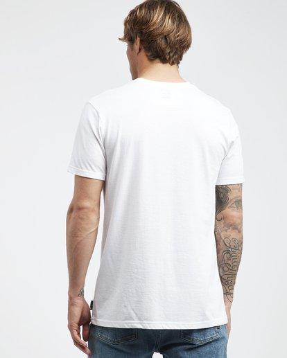 3 Team Wave - T-Shirt für Männer Weiss Q1SS36BIF9 Billabong