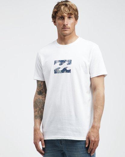 2 Team Wave - T-Shirt für Männer Weiss Q1SS36BIF9 Billabong