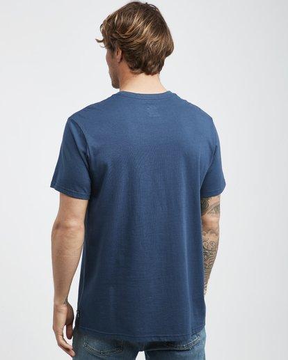3 Team Wave - T-Shirt für Männer Blau Q1SS36BIF9 Billabong