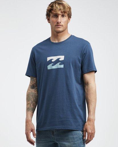 2 Team Wave - T-Shirt für Männer Blau Q1SS36BIF9 Billabong