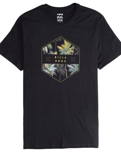 4 Access - Camiseta de Manga Corta para Hombre Negro Q1SS38BIF9 Billabong