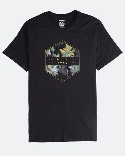 0 Access - Camiseta de Manga Corta para Hombre Negro Q1SS38BIF9 Billabong