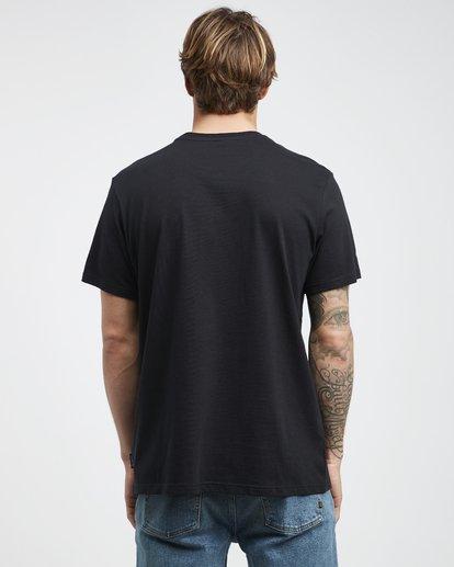 7 Access - Camiseta de Manga Corta para Hombre Negro Q1SS38BIF9 Billabong