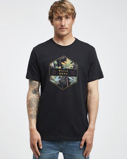 6 Access - Camiseta de Manga Corta para Hombre Negro Q1SS38BIF9 Billabong