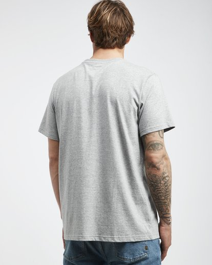 3 Access - T-Shirt für Männer Grau Q1SS38BIF9 Billabong