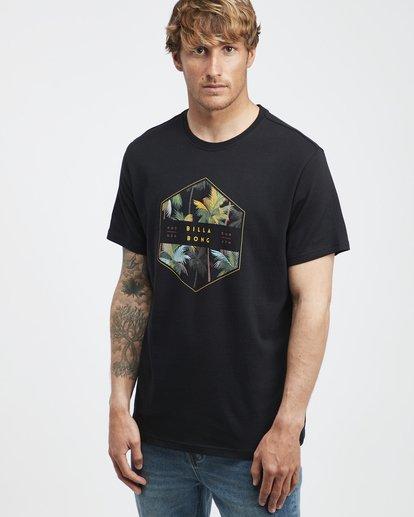 2 Access - Camiseta de Manga Corta para Hombre Negro Q1SS38BIF9 Billabong