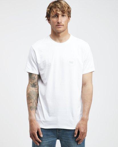 6 Access Back - T-Shirt für Männer Weiss Q1SS39BIF9 Billabong