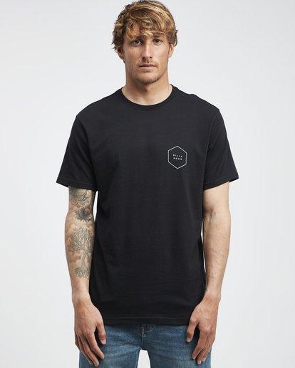 6 Access Back - T-Shirt für Männer Schwarz Q1SS39BIF9 Billabong